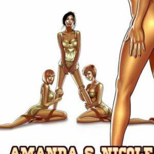 Incesto - Amanda e nicole fazendo sexo neste HQ amador