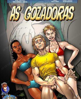 HQ Pornô: As Gozadoras - Suruba
