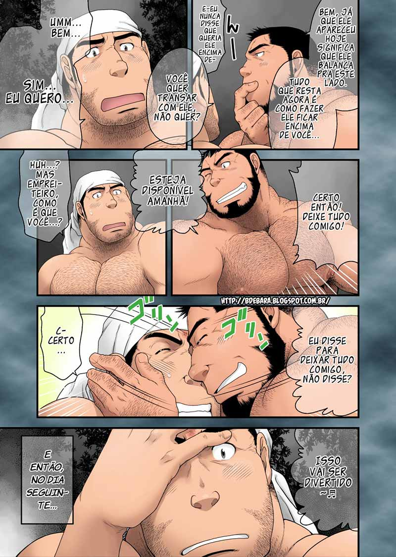 Hentai Gay de Homem Pelado Musculosos