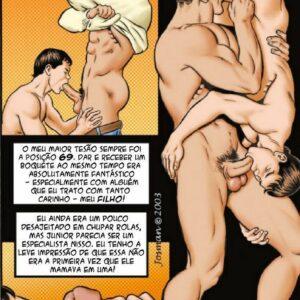 Hentai gay incesto - pai fazendo sexo com filho