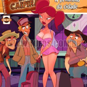 Familia Caipira - A priminha da cidade