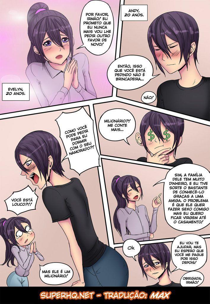 Irmão gay transando com o namorado da irmã