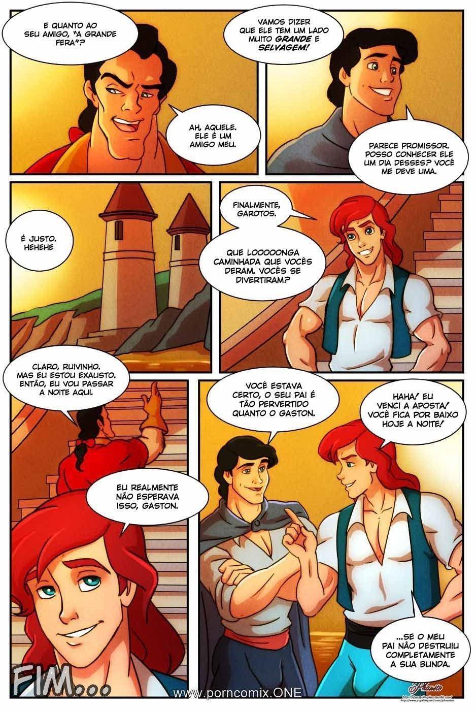 O príncipe gay e o Tritão fazendo valer a pena a saida