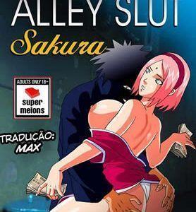 Sakura se prostituindo no beco