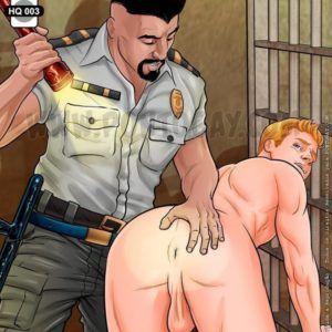 Revista íntima e profunda na prisão
