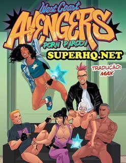 West Coast Avengers - Diário Sexual