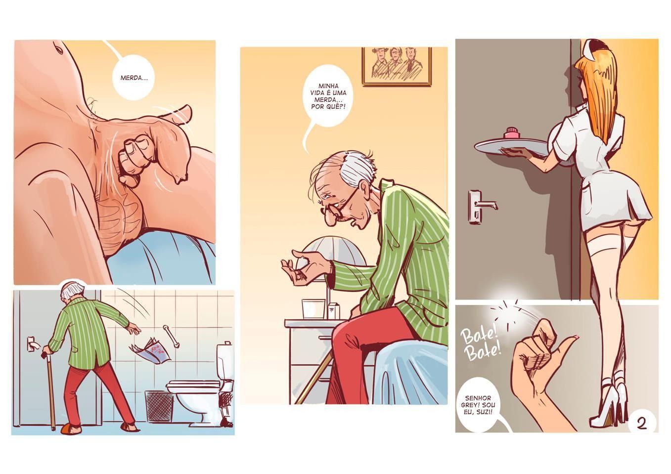 a enfermeira safada e o velho 3
