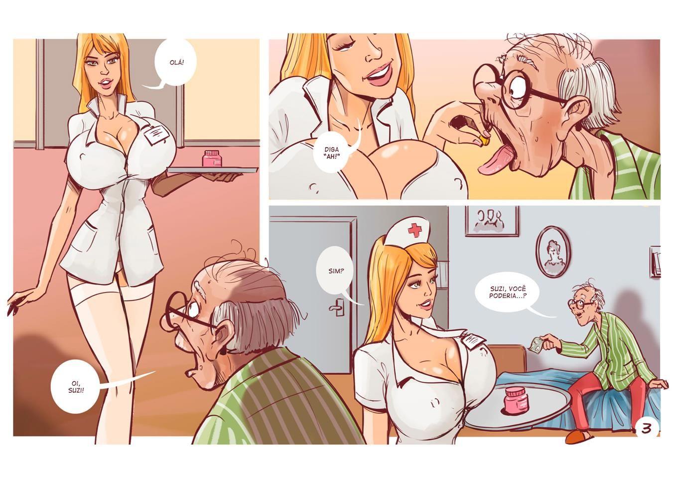 a enfermeira safada e o velho 4